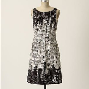 Anthro We Love Vera Great Heights Shift Dress